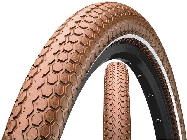 "Continental Ride Cruiser Wired-on Tire 28"" E-25 brown"